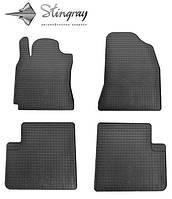 Chery Tiggo T11 2006-2014 Комплект з 4-х ковриків Чорний в салон. Доставка по всей Україні