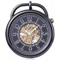 PC42 Ретро Механическая рука ветер карманные часы Чёрный