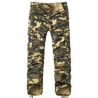 Мужские камуфляжные брюки карго 38
