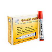 Маркер Permanent marker,красный 2-4 мм, 12 шт/уп