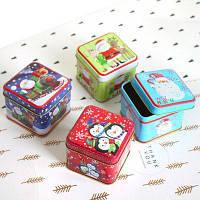 Рождественская коробка для хранения конфет сладостей Усы