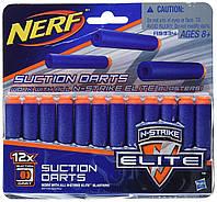 Пули для бластера Nerf Elite Series Suction 12 шт., фото 1