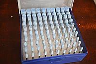 Набор шарошек для гравера 100 шт (Синие)