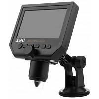 XSC G600 портативный 3.6MP 600x ЖК-цифровой микроскоп Европейская вилка