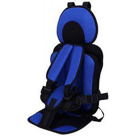 Mumugongzhu удобная воздухопроницаемое регулируемое детское автокресло - Тёмно-синий цвет сапфира
