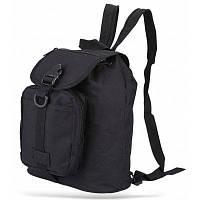 BL024 спортивный рюкзак и рюкзак с одним ремнем изготовлен из износостойкой парусины 10л Чёрный
