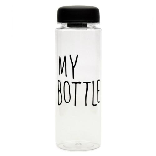 Бутылка май ботл, купить «My Bottle» Youngpig черная (291)