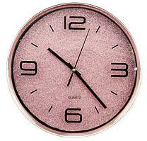 Часы настенные D618L8 розовые
