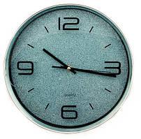 Часы настенные D618L8 голубые