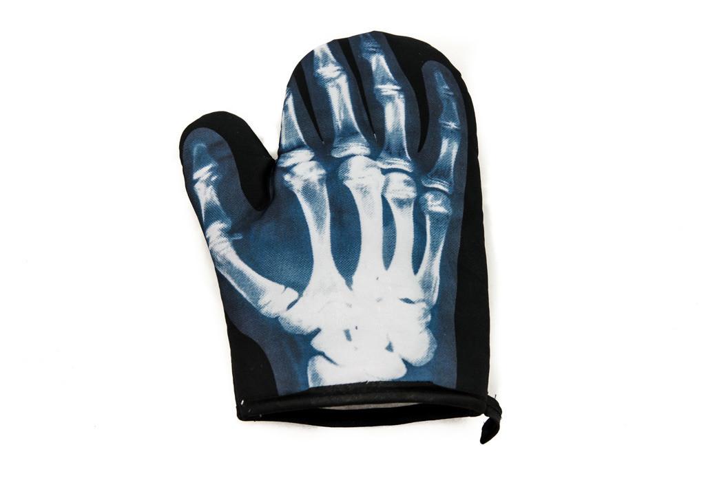 Перчатка для духовки «Рентген»