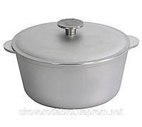 """Кастрюля алюминиевая 3 л с литыми ручками и крышкой """"Биол"""" К0300 (алюминиевая посуда)"""