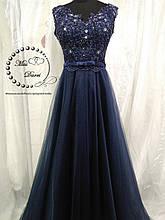 Вечернее платье/ выпускное платье синее
