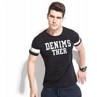 Legend Paul Мужская футболка с короткими рукавами / узором букв интернет магазин одежды 3XL