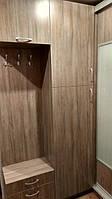 Угловой шкаф купе + прихожая