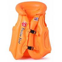 Надувной спасательный жилет купальник плавать жилет для детей M