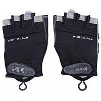 BOER Парные перчатки с половиной пальцев для мужчины L