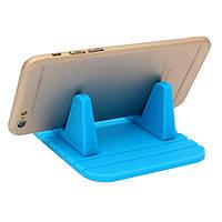 Силиконовый держатель для телефона в машину, синий