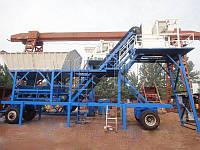 Мини мобильные бетонные заводы YHZS25, YHZS35 Aimix
