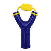 Рогатка для наушников синяя, фото 1