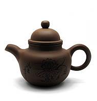 "Чайник глиняный  ""Чайный лист"""