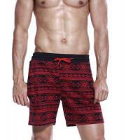 SEOBEAN чистый хлопок короткие пляжные брюки для мужчин XL