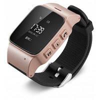 Deest D99 умные часы телефон для старых Розовый золотой