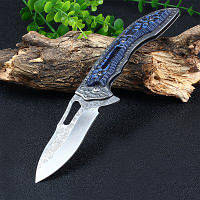 SR638D вкладыш замок карманный нож с 3Cr13 лезвие Синий