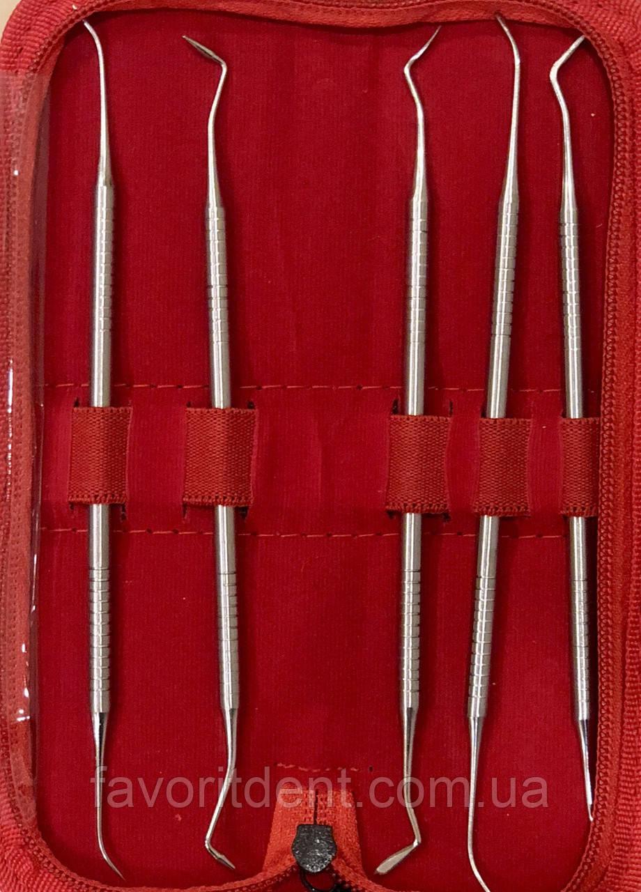 Гладилки стоматологические штопферы набор