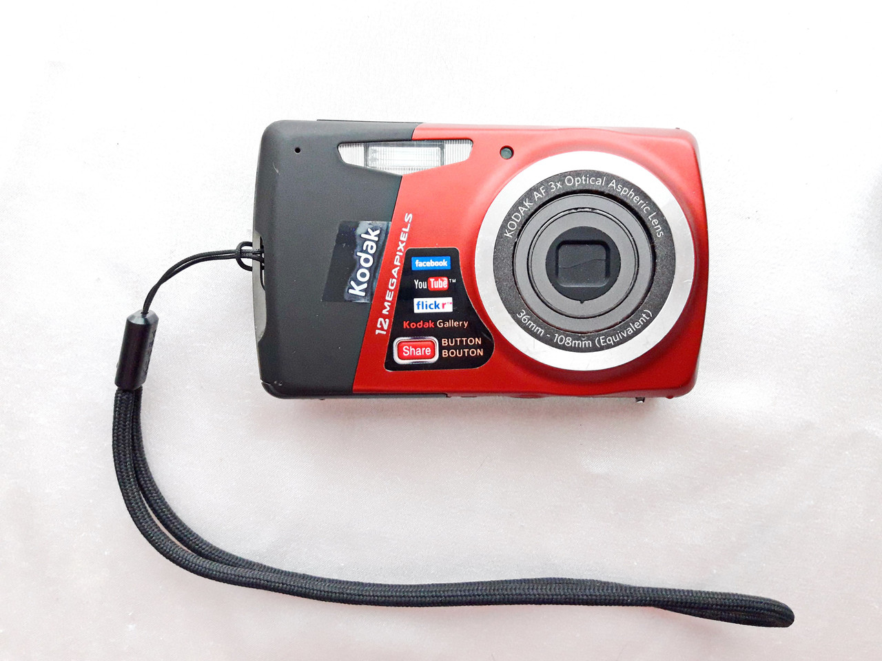 Kodak EasyShare M530 Black-Red