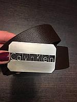 Ремень кожаный CALVIN KLEIN  (реплика)