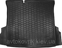 Пластиковый коврик в багажник Ravon R4 2016- седан (AVTO-GUMM)