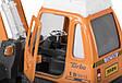 Классная детская металлическая машинка Goki Снегоочиститель 12107G-6, фото 4