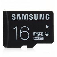 Оригинальная карта памяти Samsung 16GB Micro SDHC 16гб