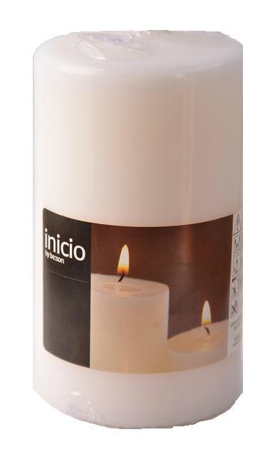 Свеча цилиндр белая 70х120мм Inicio
