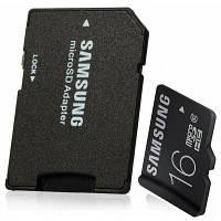 Оригинал Samsung 16Гб адаптер для TF к SD карте с микро-SDHC картой Class 10 16гб
