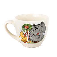 """Чашка """"Одесса"""" белая с детской деколью 250 мл, упаковка 6 шт."""