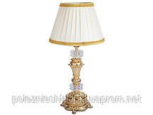 Светильник настольный с абажуром из латуни и стекла Franco&C