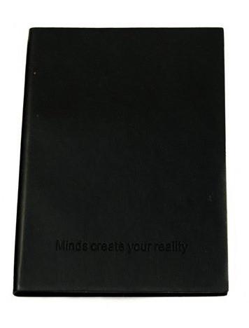 Оригинальный блокнот, купить планер или планировщик, ежедневник Youngpig «строгий» черный оранж страницы (498)