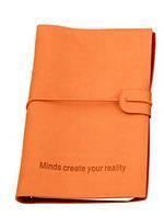 Оригинальный блокнот, купить планер или планировщик, ежедневник Youngpig «MCYR» маленький оранж (489), фото 1