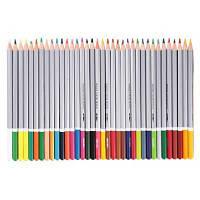 DELI 36шт. смешанный водорастворимый цветной карандаш для рисования канцелярские принадлежности 36шт.