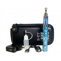 Электронная сигарета вейп, купить wape X6 Kts Ecab V2 в чехле, голубая