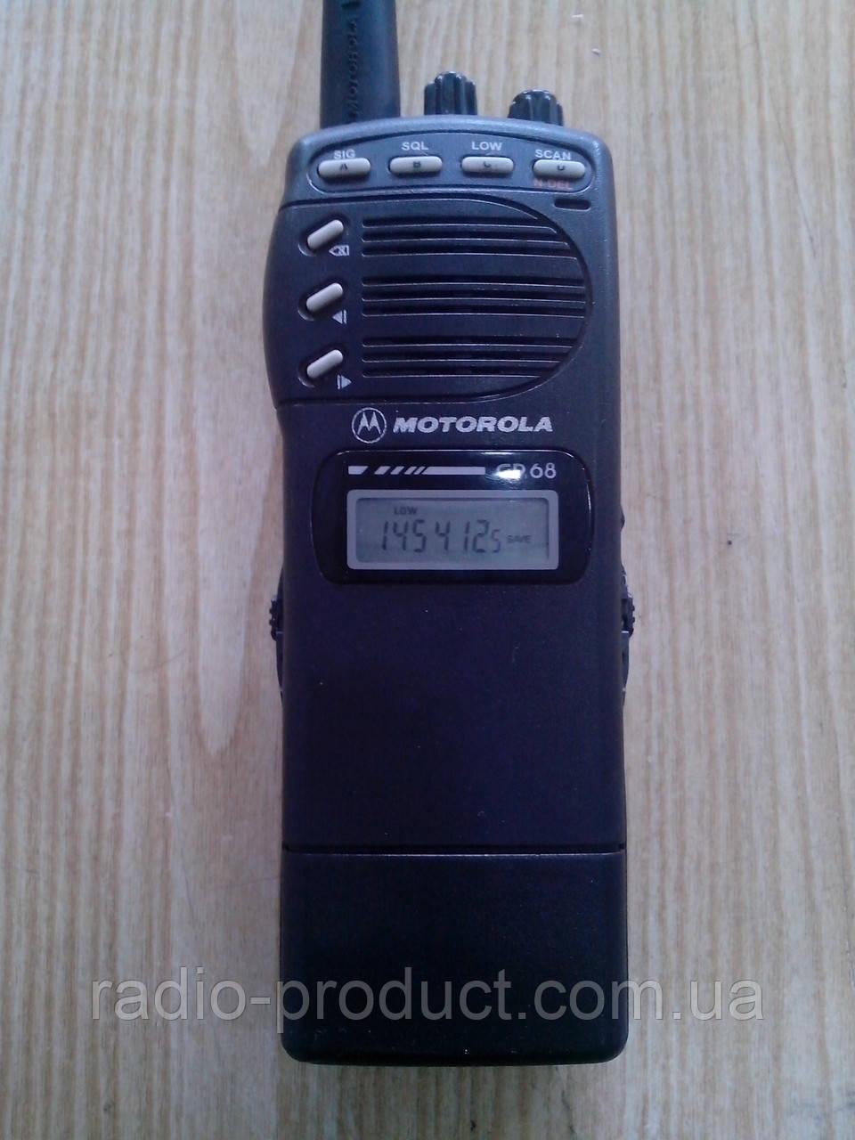 Motorola GP68 VHF, б/у, комплект