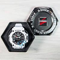 Белые часы casio g-shock, часы касио (реплика)