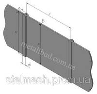 Плиты и столбы забора наборного, ПКН 60×20, ПКН 60×15, ПКН 60×10, ПКН 60×8, ПЗ 60×24, ПЗ 60×15