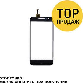 Сенсорный экран для мобильного телефона Bravis Alto, черный