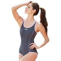 ZOKE женские купальники чистого цвета с U-образным вырезом XL