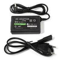 US штепсель AC адаптер с кабелем для PSP 100-240В вход Европейская вилка