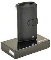 Женский кожаный кошелек DR. BOND Classik W21-17 black кожаные кошельки оптом Одесса 7 км