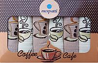 Набор кухонных полотенец Merpatti Coffe 30х50 (6 шт.) mt-01