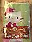 Полуторный детский комплект постельного белья Hello Kitty (70х70), фото 4